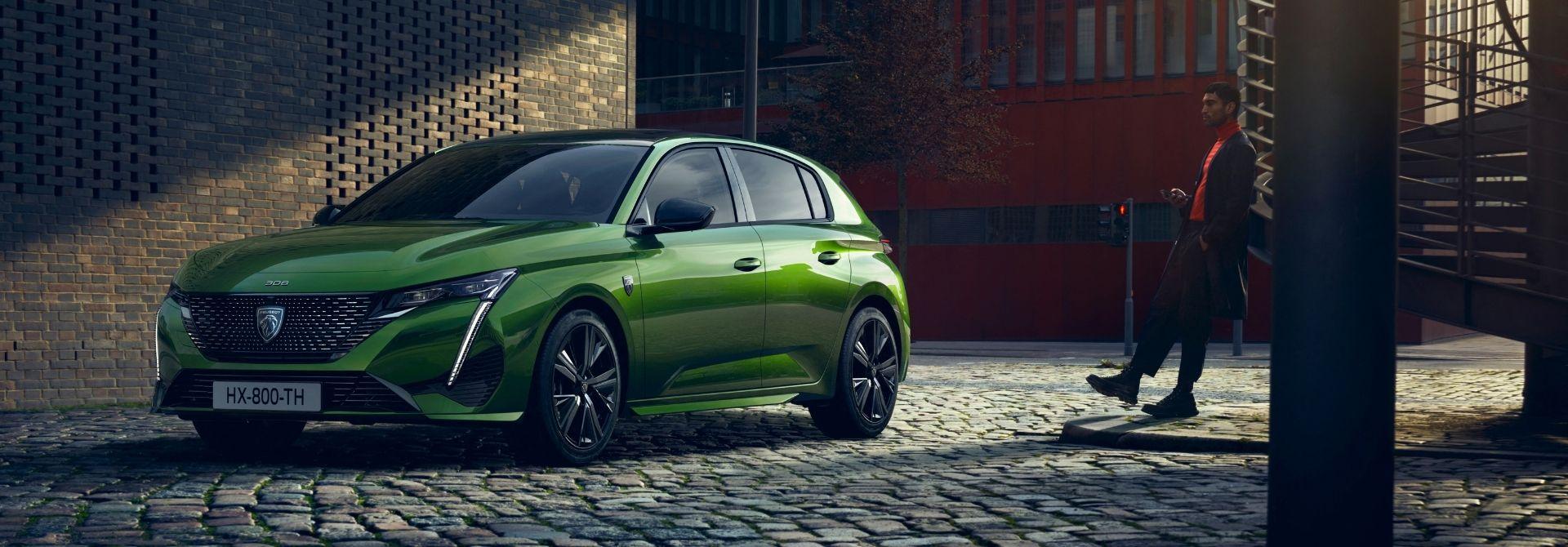 Zbrusu nový Peugeot 308, nová tvář Peugeot